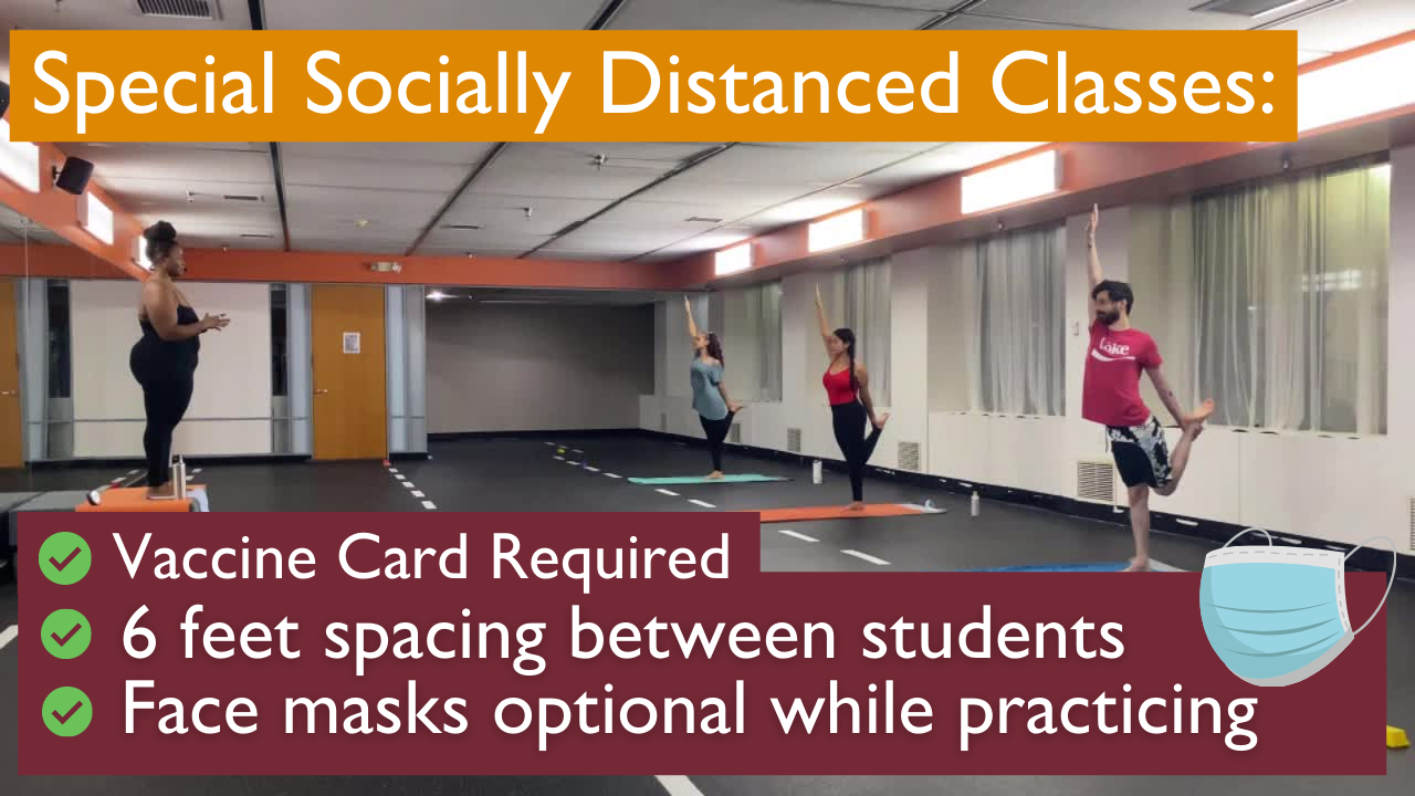 Socially Distanced Classes (1)