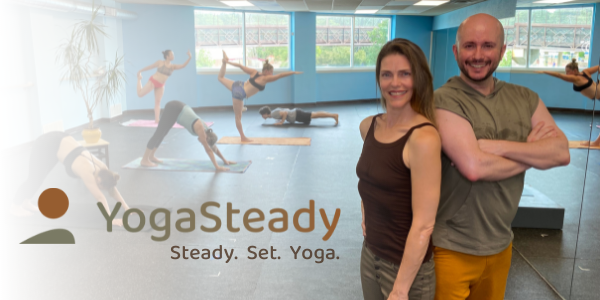 Steady. Set. Yoga.